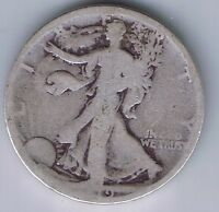 1919 S WALKING LIBERTY HALF DOLLAR SILVER COIN 50 CENTS WALKER 1/2 50C