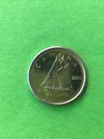 BEAUTIFUL 2007 CANADIAN 10 CENT COIN TEN CENT PENNY COIN