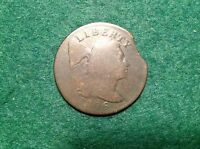 1796 LIBERTY CAP LARGE CENT   VARIETY AND CLIPPED PLANCHETT