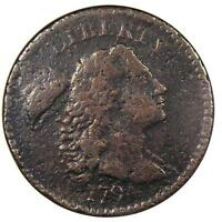 1794 LIBERTY CAP LARGE CENT 1C S-44 - ANACS VF DETAILS - NET F12 -  COIN