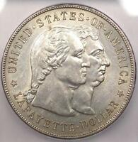 1900 LAFAYETTE SILVER DOLLAR $1 - ICG MINT STATE 60 DETAILS -  CERTIFIED BU COIN