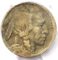 1918/7-D BUFFALO NICKEL 5C - PCGS VG DETAILS -  OVERDATE VARIETY COIN