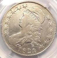 1824/VARIOUS DATES CAPPED BUST HALF DOLLAR 50C - PCGS VF DETAILS -  VARIETY