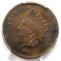 1872 INDIAN CENT 1C - PCGS VF DETAILS -  EARLY DATE CERTIFIED PENNY
