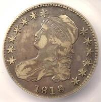 1818 CAPPED BUST HALF DOLLAR 50C O-108 - ICG VF30 -  DATE - CERTIFIED COIN