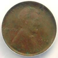 1914-D LINCOLN WHEAT CENT 1C - NGC EXTRA FINE  DETAILS EF -  KEY DATE PENNY
