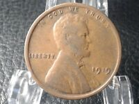 1919 1C  LINCOLN WHEAT CENT  : ONE PENNY  COIN : 24
