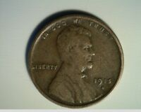 1915-S LINCOLN WHEAT CENT, CIRCULATED HIGH GRADE US-368
