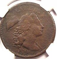 1794 HEAD OF 1794 S-44 LIBERTY CAP LARGE CENT 1C: NGC VF - $2000 VALUE IN VF20
