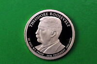 2013-S  GEM  PROOF  THEODORE ROOSEVELT DEEP CAMEO US PRESIDENTIAL ONE DOLLAR