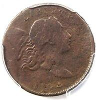 1794 LIBERTY CAP FLOWING HAIR HALF CENT 1/2C - PCGS FINE DETAIL -  COIN
