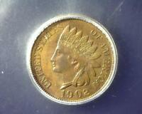 1902 INDIAN HEAD CENT ICG MINT STATE 64 BR 2438820501