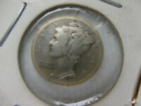 1 ONE DIME USA 10 CENT SILVER 1923 S