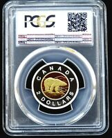 PCGS CERTIFIED PR70DCAM CANADA 1996 SILVER TOONIE PROOF COIN