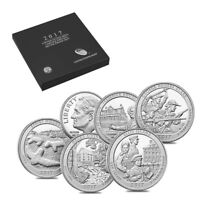 2017 S US MINT LIMITED EDITION SILVER PROOF 6 COIN SET ASW 0