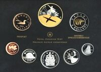 CANADA SILVER PROOF SET 2009 100TH ANNIVERSARY OF FLIGHT IN CANADA