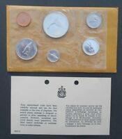 1967 CANADA PROOF LIKE SILVER MINT SET. FUN SET FLYING GOOSE