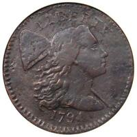 1794 S-64 LIBERTY CAP LARGE CENT 1C R5 - ANACS VF DETAILS - RARITY-5 VARIETY
