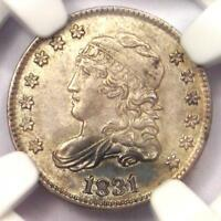 1831 CAPPED BUST HALF DIME H10C - NGC UNCIRCULATED DETAILS -  MS COIN