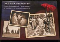 2005 AUSTRALIA PROOF SET   PEACE COMING HOME REMEMBRANCE   S