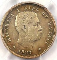 1883 HAWAII DIME 10C - PCGS VF30 -  CERTIFIED COIN -  PATINA