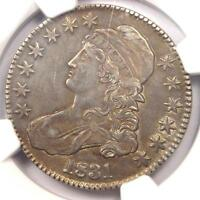1831 CAPPED BUST HALF DOLLAR 50C O-104 - NGC AU DETAILS -  CERTIFIED COIN