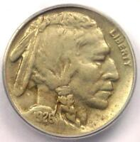 1926-S BUFFALO NICKEL 5C COIN - CERTIFIED ICG EXTRA FINE 45 EF45 - $1,372 VALUE