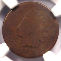 1877 INDIAN CENT 1C - NGC AG DETAILS -  KEY DATE CERTIFIED PENNY