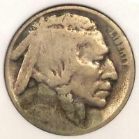 1918/7-D BUFFALO NICKEL 5C - ANACS GOOD DETAILS / NET AG3 -  OVERDATE COIN