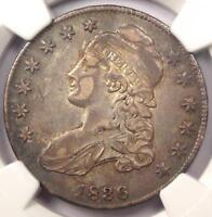 1836 CAPPED BUST HALF DOLLAR 50C O-119 - NGC EXTRA FINE 45 EF45 -  CERTIFIED COIN