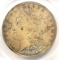 1895-O MORGAN SILVER DOLLAR $1 - ANACS F12 DETAILS DAMAGE - CERTIFIED COIN