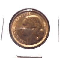 CIRCULATED 1952 10 FRANC FRENCH COIN.
