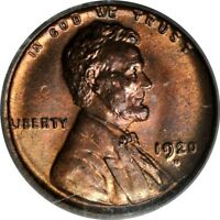 1920-D 1C LINCOLN CENT PCGS MINT STATE 64RB