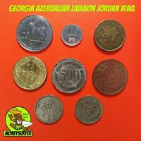 ARAB ASIA CAUCASUS COIN MIX LOT COLLECTION NICE VALUABLE  FR