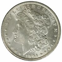 1904 O MORGAN SILVER DOLLAR UNCIRCULATED CONDITION COIN NICE COLLECTIBLE