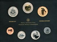 CANADA SPECIMEN SET 2010 COINAGE WITH $1 NORTHERN HARRIER SPECIAL EDITION