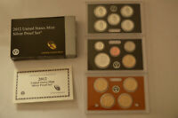 2012 US MINT SILVER PROOF SET W/ BOX AND COA   14 COIN SET