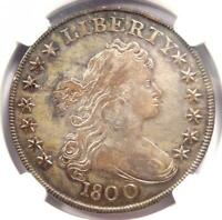 1800 DRAPED BUST SILVER DOLLAR $1 AMERICAI - NGC VF DETAILS -  COIN