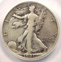 1921-D WALKING LIBERTY HALF DOLLAR 50C - ANACS F12 DETAILS -  CERTIFIED COIN