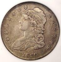 1836 CAPPED BUST HALF DOLLAR 50C O-122 - NGC EXTRA FINE 45 EF45 -  CERTIFIED COIN