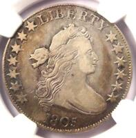 1805 DRAPED BUST HALF DOLLAR 50C - NGC VF DETAILS -  CERTIFIED COIN