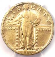 1923-S STANDING LIBERTY QUARTER 25C COIN - PCGS VF35 -  DATE - $1,250 VALUE