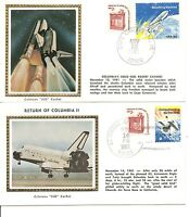 USA. SPACE SHUTTLE COLUMBIA LIFT OFF AND LANDING NOV 12 14 1981 2 COVERS. III