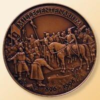 HUNGARY 896   1996 MILLECENTENARIUM   HUNGARIAN CONQUEST 1100TH ANNIVERSARY UNC