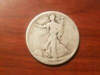 1919 S WALKING LIBERTY 90  SILVER HALF DOLLAR 50 CENT COIN 1/2 FIFTY CENT NICE