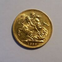 1883 GREAT BRITIAN  SOVEREIGN