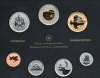 CANADA SPECIMEN SET 2012 COINAGE WITH $1 SWIMMING LOONIE SPECIAL EDITION