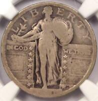 1921 STANDING LIBERTY QUARTER 25C - NGC G6 GOOD -  DATE - CERTIFIED COIN