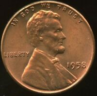 LINCOLN CENT 1958-P  CERTIFICATION QUALITY? SOME OF THE BEST ON EBAY  1358