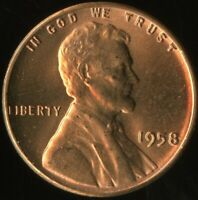 LINCOLN CENT 1958-P  CERTIFICATION QUALITY? SOME OF THE BEST ON EBAY  1367